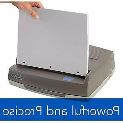 Punches Swingline Hole Medium Duty Puncher, 50 Sheet Capacity,