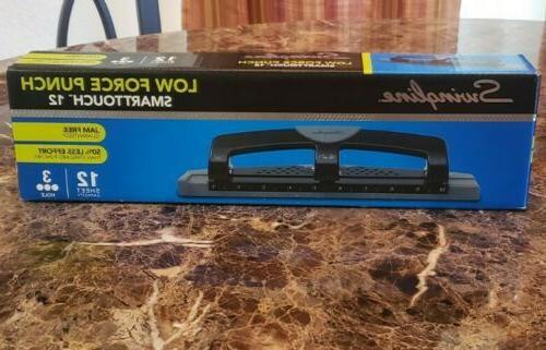 smarttouch 3 hole punch low force 20