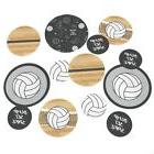 Volleyball - Baby Shower or Birthday Party Table Confetti Se
