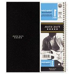 ** Wirebound Notebook, College Rule, 3-hole Punch, Poly Cove