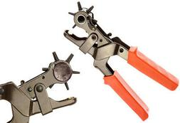 Leather Hole Punch Set for Belts, Watch Bands, Straps, Dog C