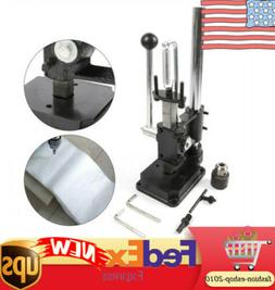 Leather Imprinting Machine Hole Punching Press Tool Punch Lo
