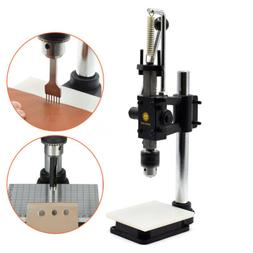 Leather Imprinting Machine Hole Punching Press Tool DIY Cutt
