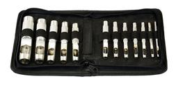 SE - Leather Punch Set - Hollow, 12 Pc - 791LP