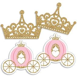 Little Princess Crown - Tiara & Carriage Decorations DIY Pin