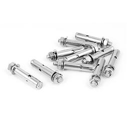 uxcell M8x60mm Stainless Steel Sleeve Expansion Anchor Bolts