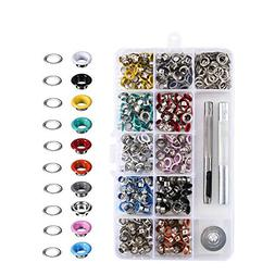 Anpatio 300pcs Metal Eyelet Decorative Grommet Tools Punch R