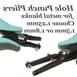 BeadSmith Metal Hole Punch Pliers Choose from 1.25mm, 1.5mm,