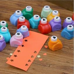 Mini Paper Craft Punch DIY Hole Puncher for Festival Papers