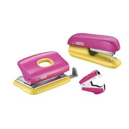 Rapid Mini Stapler and Hole Punch Set, Staple or Punch up to