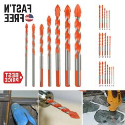 Multifunctional Ultimate Drill Bit Ceramic Glass Punching Ho