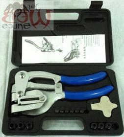 new hand held power hole punch set