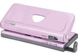 NEW Pink Rapesco Adjustable 6 Hole Punch Diary Planner Organ