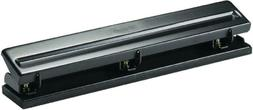Officemate Standard 3 Hole Punch with 8 Sheet Capacity, Blac