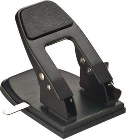 OfficemateOIC Antimicrobial Heavy Duty 2-Hole Punch, Padded