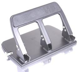 OfficemateOIC Antimicrobial Heavy Duty 3-Hole Punch, Padded