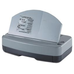 Officemate 90115 Electric 2-3 Hole Adjustable Eco-Punch 9/32
