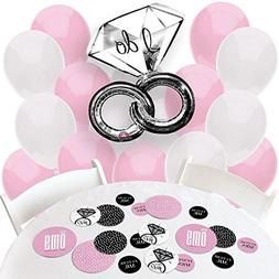 OMG, You're Getting Married! - Confetti and Balloon Engageme