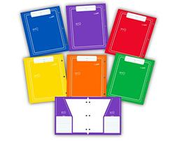 New Generation - One - 2 Pocket Folder/Portfolio Vertical Po