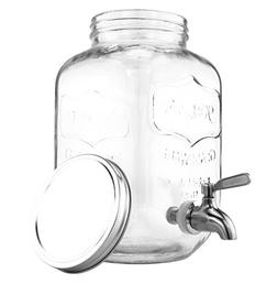 one gallon glass mason jar