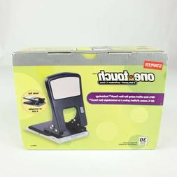 Staples One Touch 2 Hole Punch- 30 pages New In Box