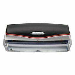20-Sheet Optima Electric/Battery Three-Hole Punch, 9/32&quot