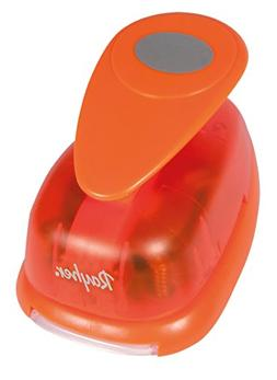 Rayher Oval Motive Puncher for Paper upto 200 g/m sq, Orange