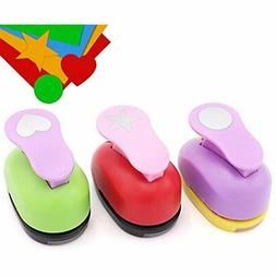 Paper Punchers Hole 1 Inch - Shape Punches For Kids Crafts,