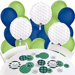 Big Dot of Happiness Par-Tee Time - Golf - Confetti and Ball
