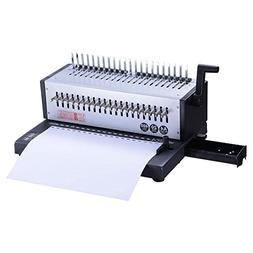 Powerful Electric Adjustable 21-Comb Holes 400 Sheets Punchi