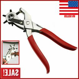Professional Punch Tool Leather Hole Pliers Heavy Duty Belt