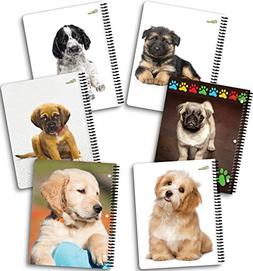 "New Generation - Puppies - 1 Subject 70 Sheets 8"" x 10.5"" Wi"