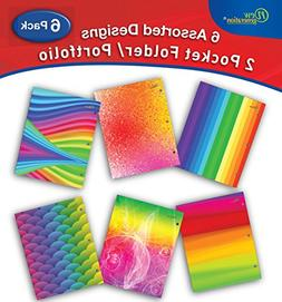 New Generation - Rainbow - 2 Pocket Folders / Portfolio 6 PA