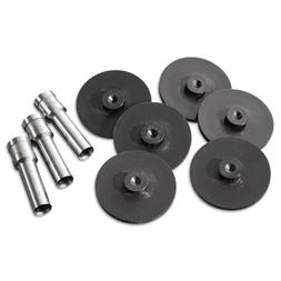Replacement Head Punch Set, Three Heads/Five Discs, 9/32 Dia