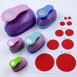 Round Hole Punch Paper Punches Shaper Cutter Embossing Makin
