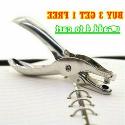 School Office Metal Single Hole Puncher Hand Paper Punches L