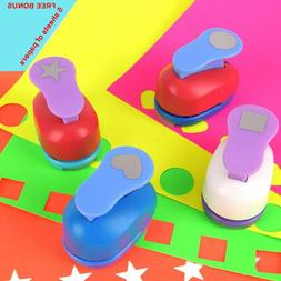 Buytra Scrapbook Paper Punchers Hole Punch 1 Inch - Shape Pu