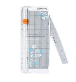 Fiskars scrapbooking paper trimmer with swing-out arm, 12 in