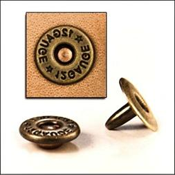 Shotgun Shell Rivets #1388-01 Pk. of 30 by Tandy Leather Fac