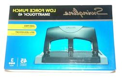 Swingline SmartTouch 45 3-Hole Low Force Punch 45 Sheet Capa