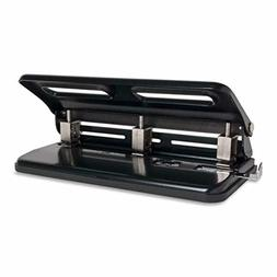 """Sparco SPR01796 Heavy-Duty Adjustable 9/32"""" 3-Hole Punch"""