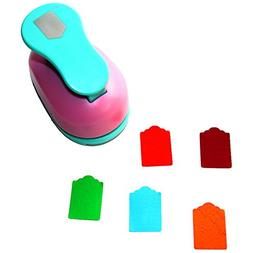 Tag Paper Punch Cutter Scrapbook Embossing Device Craft Tool