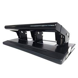 Three Hole Puncher Deluxe Metal 3 Hole Punch for Up to 20 Sh