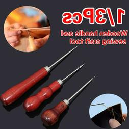 Tool Leathercraft Sewing Accessories Repair Needle Punch Hol
