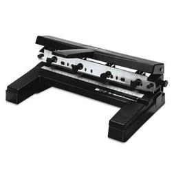 40-Sheet Two- to Four-Hole Adjustable Punch, 9/32'' Holes, B
