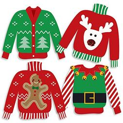 Ugly Sweater - Sweater Decorations DIY Holiday & Christmas P