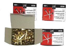 Value Pack ACCO Brass Plated Paper Fastener, 1.5 Inch Length