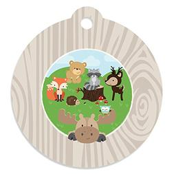 Woodland Creatures - Baby Shower or Birthday Party Favor Gif