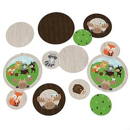 Woodland Creatures - Party Table Confetti Set - 27 Count