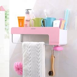ZHANWEI Bathroom Shelf Shower Organiser Wall-Mounted Rectang